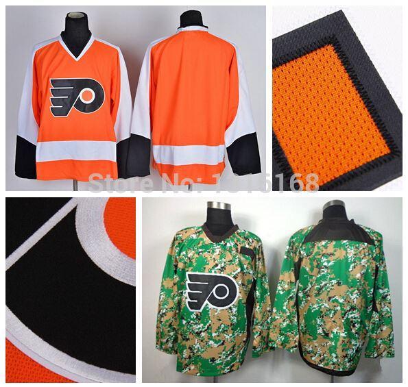 Digital Camo Hockey Jerseys Jersey Orange Digital Camo