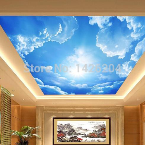 потолок 3д фото в