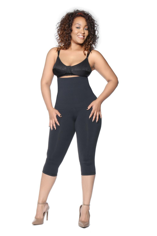 Women Plus Size Cinch Leggings Weight Loss Pants Lift Up Super ...