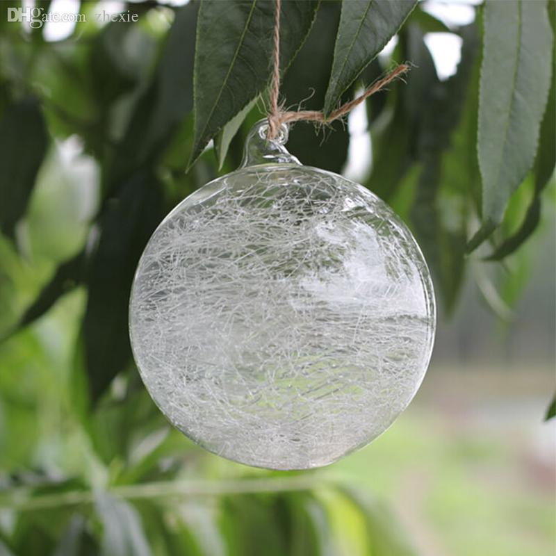 Wholesale clear glass baubles balls christmas baubles for Outdoor christmas baubles