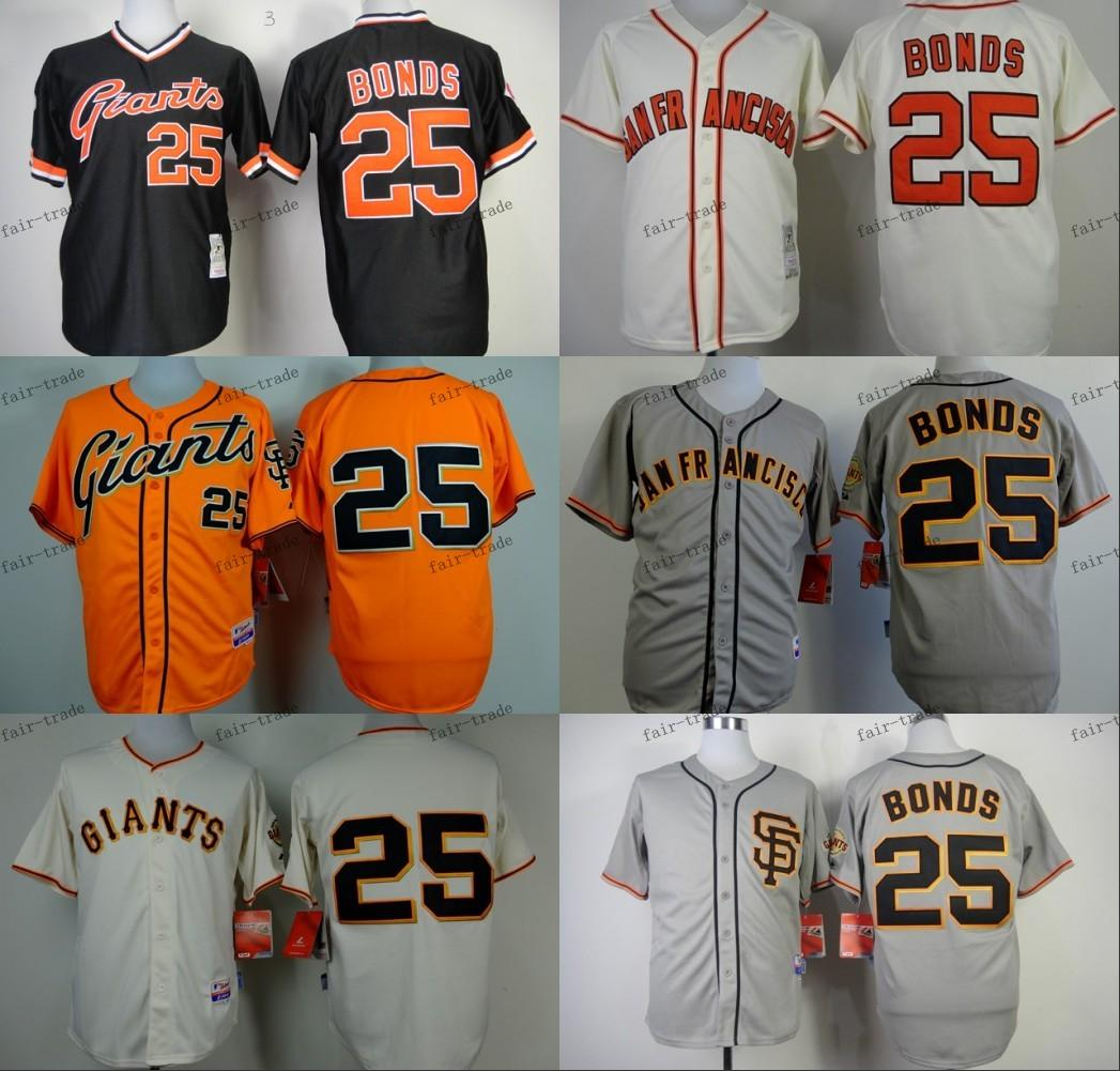 San Francisco Giants # 25 obligations barry 2015 Baseball Jersey Cheap Rugby Mai