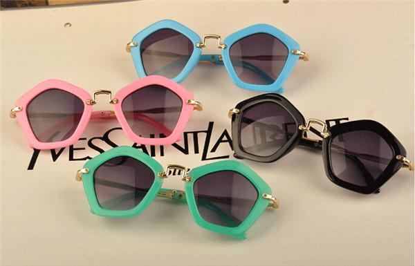 kids designer sunglasses  2015 Fashion Children Pengaton Sunglasses Trendy Girls Uv400 ...
