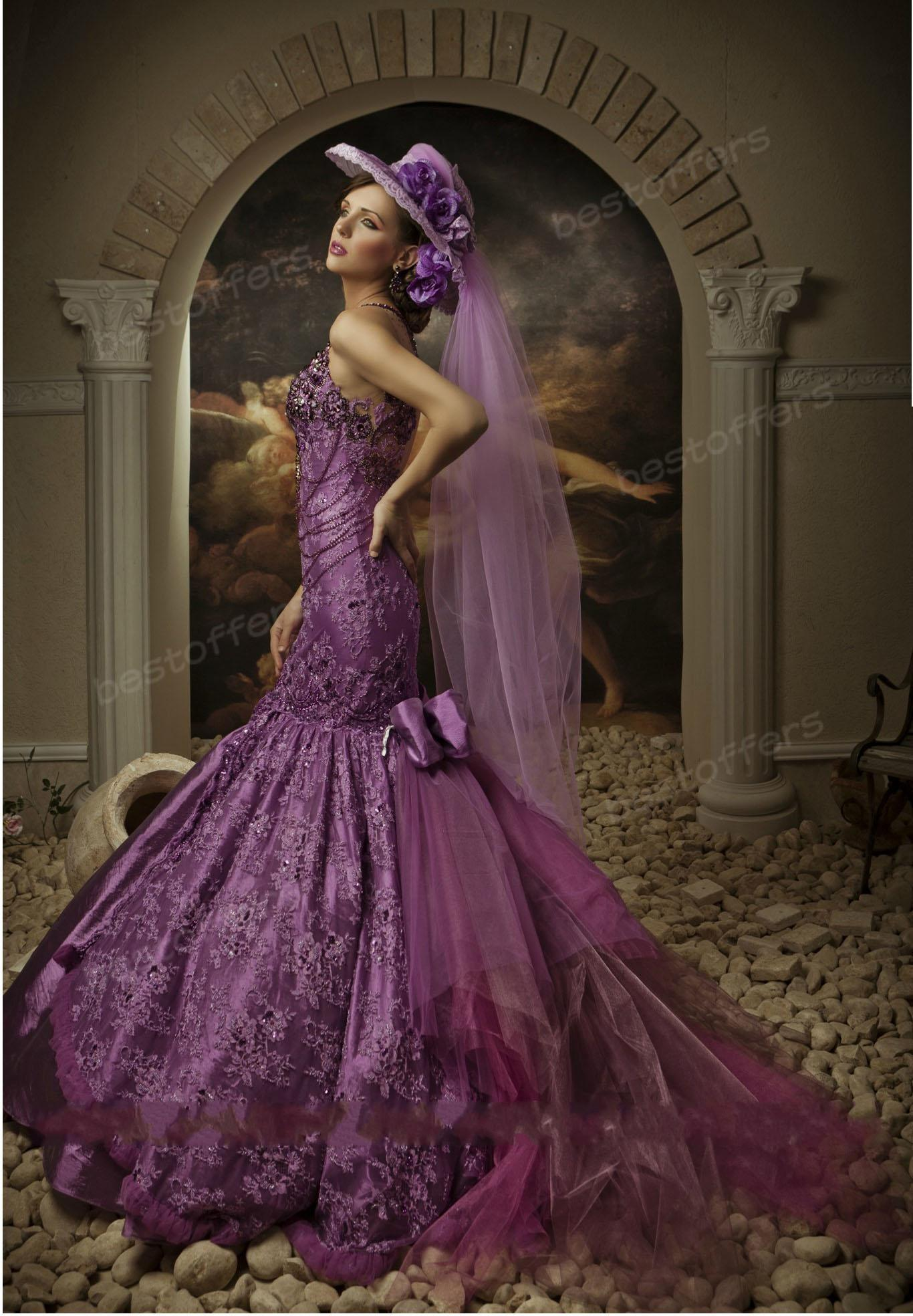 Lujo Sexy Mermaid Wedding Gowns Galería - Vestido de Novia Para Las ...