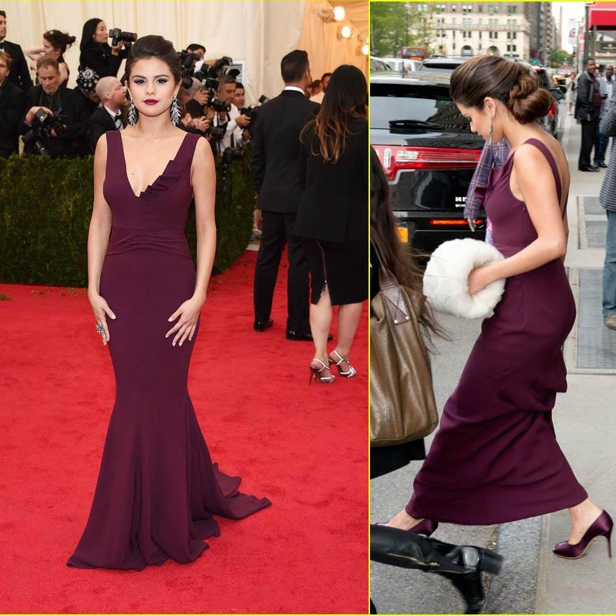 Selena Gomez Red Tango Dress Best Dressed