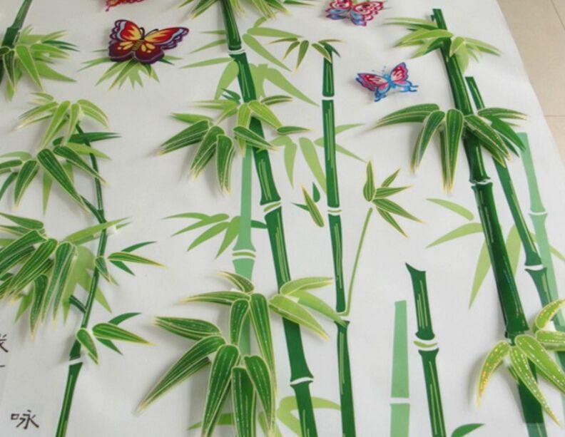Bamboo wall decal roselawnlutheran for Bamboo wall art