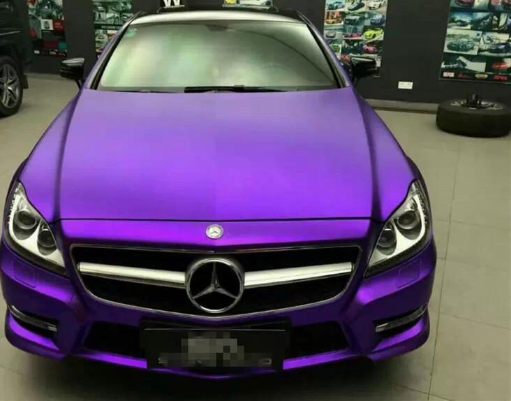 Metallic Purple Car The Image Kid Has It