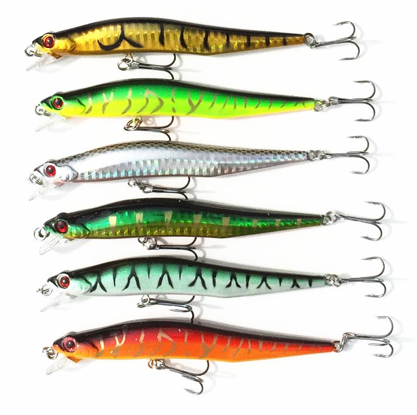 11g snake shaped minnow lures trulinoya fishing for Snake fishing lure