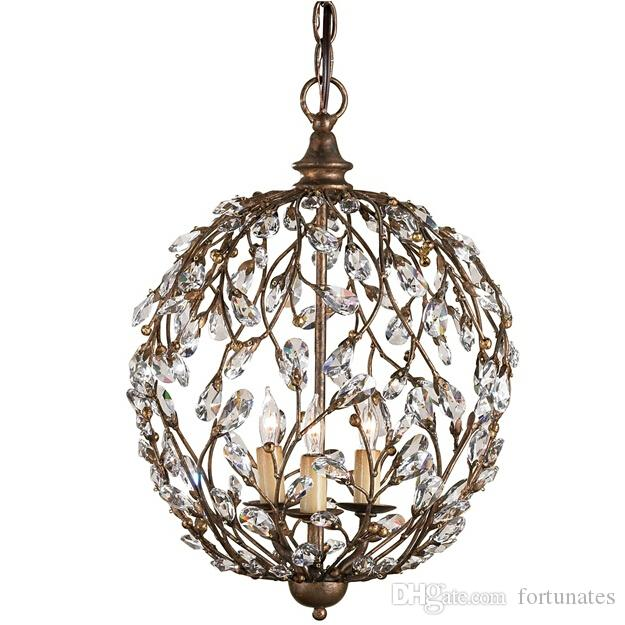 Crystal Bud Sphere Traditional Chandelier Crystal Bud Sphere – Traditional Chandelier