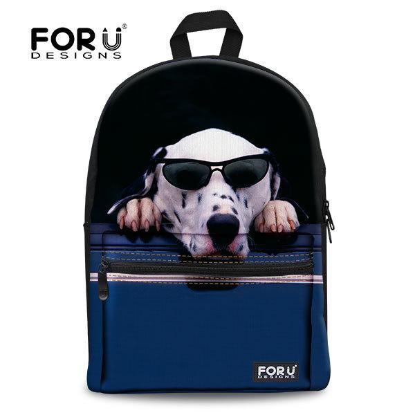 Fashion Jan Sport Backpack Femal Animal School Bags For Teenagers ...