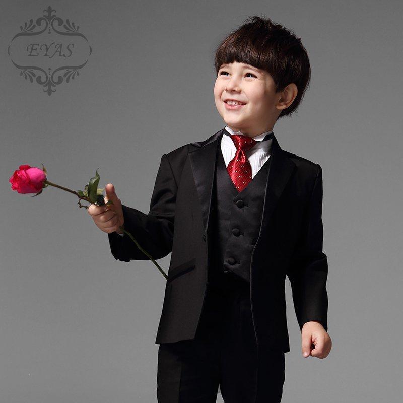 2015 Custom Made Suit Boy Big Virgin Boy Little Flower Girl Dress