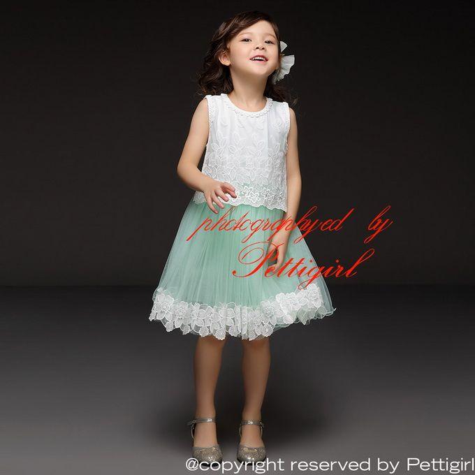 Pettigirl Hot Sale Girls Summer Tutu Dress Mint Green Lace Baby ...