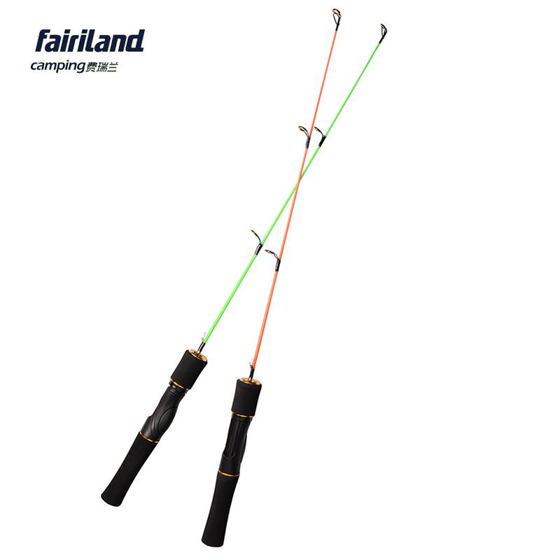 Fairiland ice fishing rod 2 sections for Fiberglass fishing pole