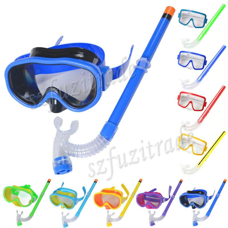 Online Cheap Promotion Kids Swimming Mask Pool Diving Equipment Anti Fog Goggles Scuba Mask