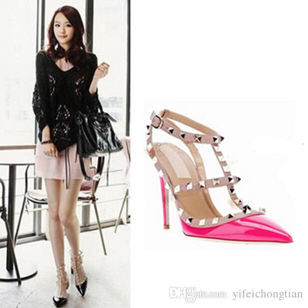HOT SALE Women High Heels Shoes Ladies Sexy Pointed Toe Fashion ...