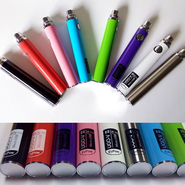 E cig liquid on battery