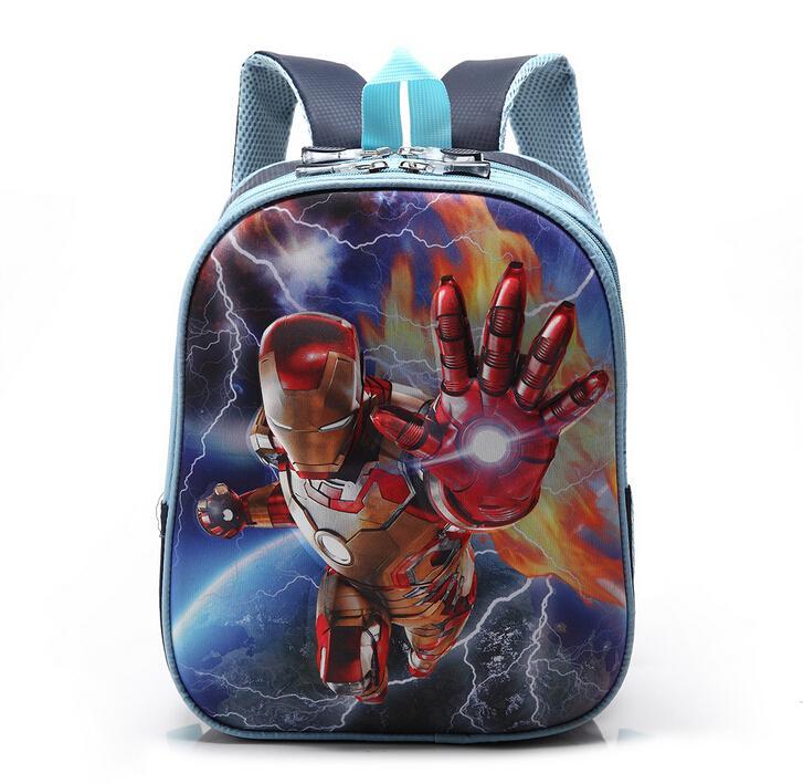 Cartoon Baby Iron Man Iron Man Baby Bags 12 Inch 3d