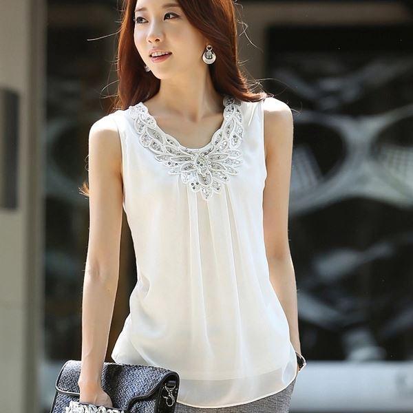 Pretty Summer Blouses Fashion Ql
