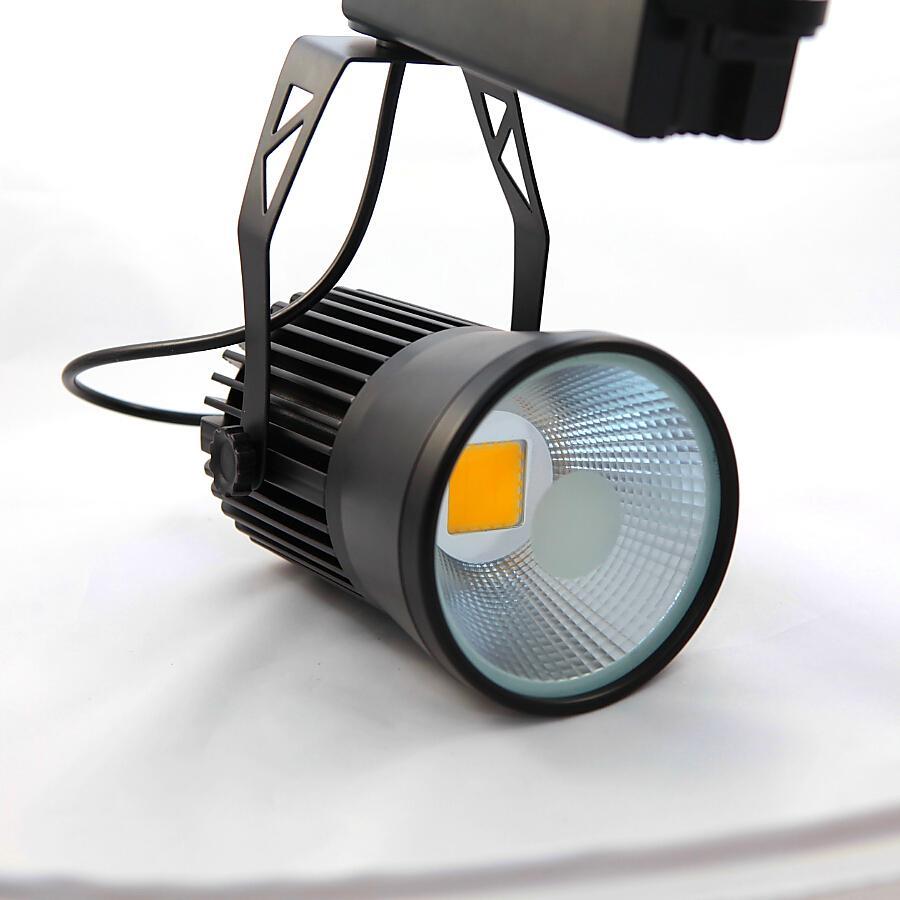 30W COB LED Tack Light Clothing Store to Shoot the Light COB Track ...