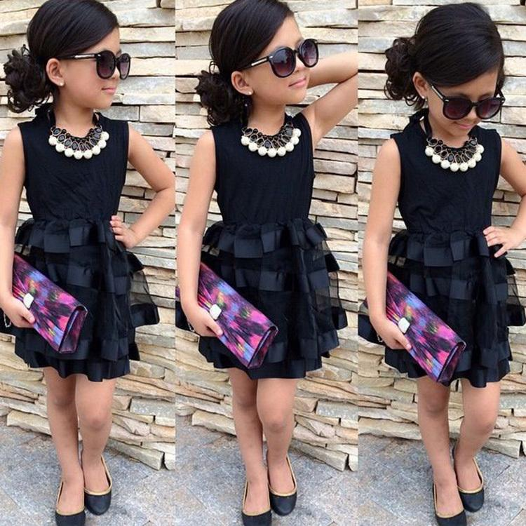 Best 2016 New Design Girl Layered Tutu Dress Baby Girls Little ...