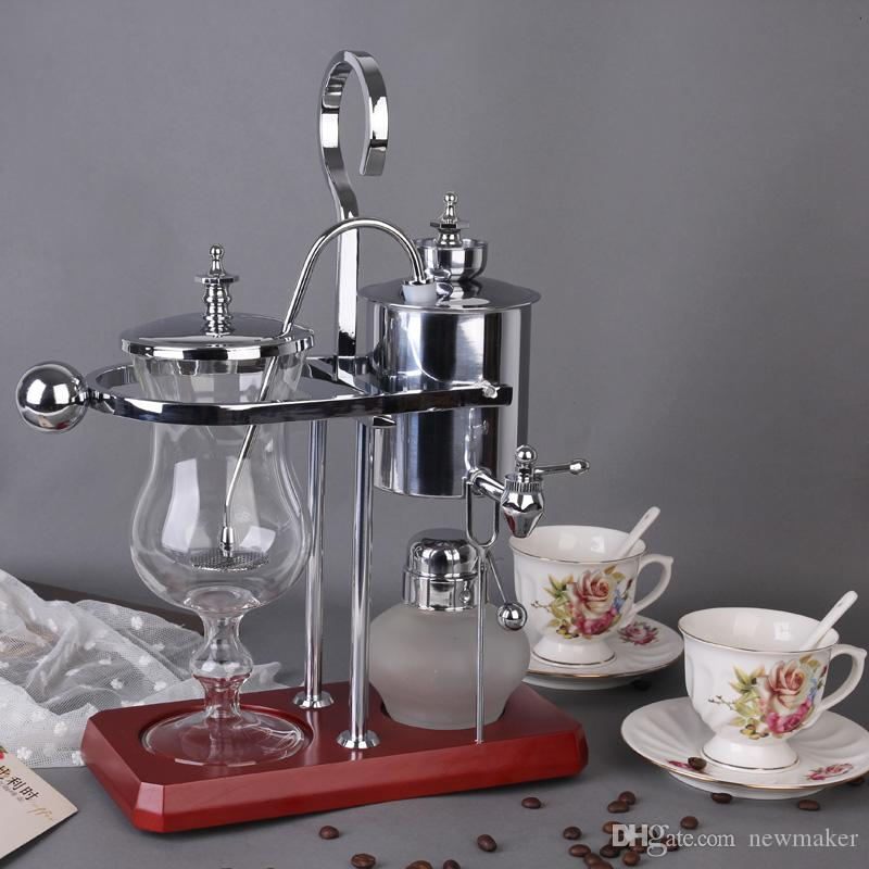 2017 royal belgium coffee maker balancing coffee machine expresso coffee maker silver promotion. Black Bedroom Furniture Sets. Home Design Ideas