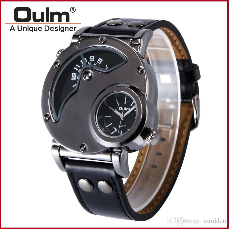 100% authentic oulm 9591 men s tag watches army relojes lujo 100% authentic oulm 9591 men s tag watches army relojes lujo marcas men barato montre homme