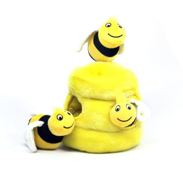 Stuffed Bee Dog Toy