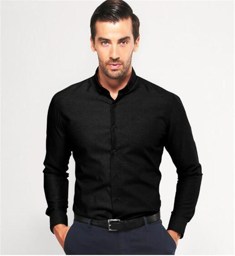 Sexy Fashion Man's Shirt Slim Fit Primer Shirt Groom Wedding ...