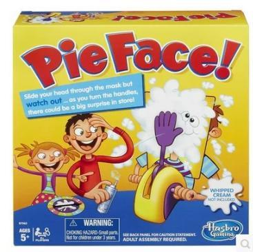 2016 Pie Face Korea Running Man Pie Face Game Pie Face Cream On Her Face Hit The Send Machine Paternity Toy Rocket Catapult Game Consoles