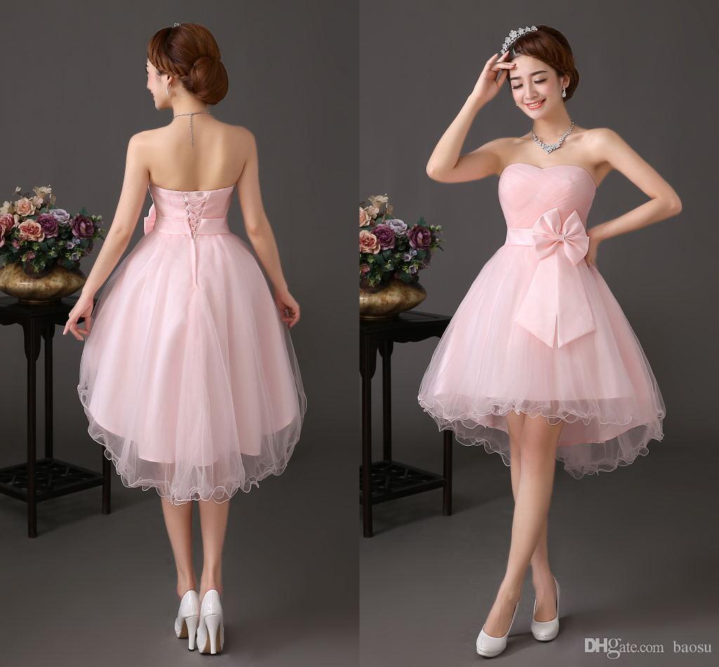 Cheap Shail K Prom Dresses Pink Formal Dress Party Short