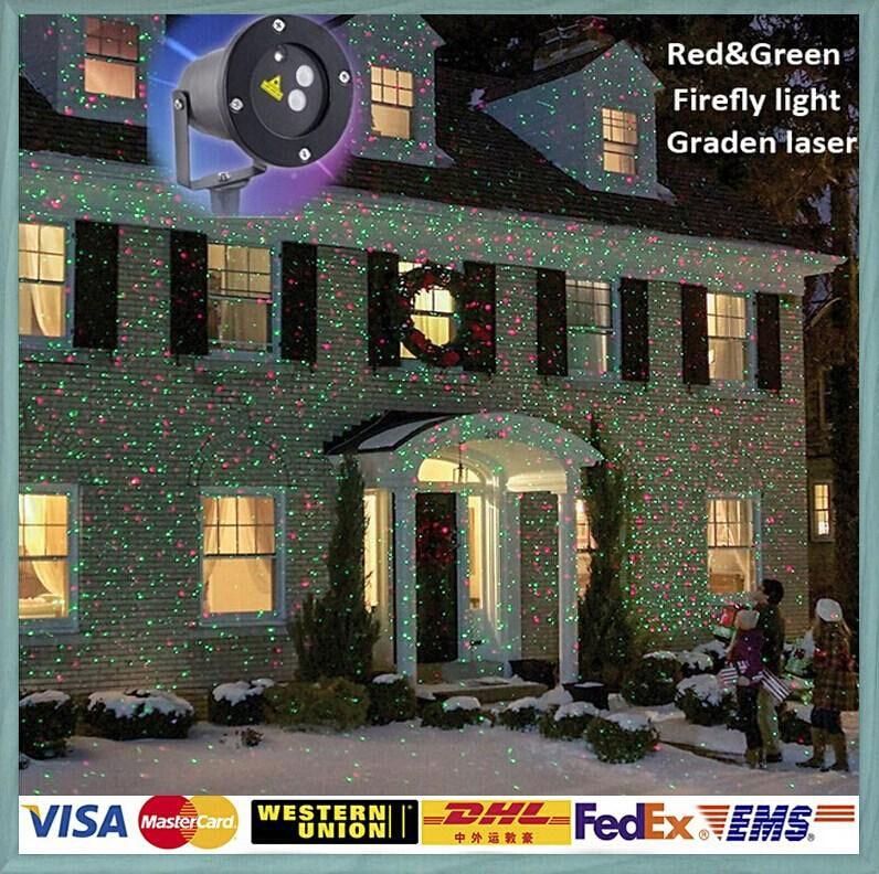 Outdoor IP65 Waterproof Laser Stage Light,elf Light Christmas ...