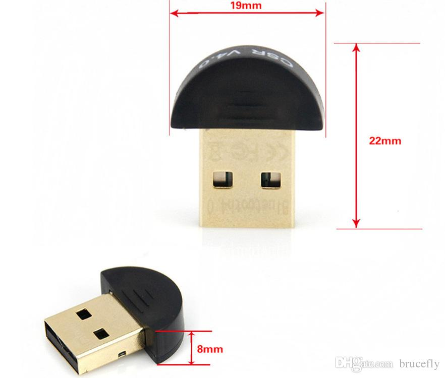 Adaptateur Dongle USB 2.0 CSR4.0 Bluetooth 4.0 haute qualité pour PC LAPTOP WIN