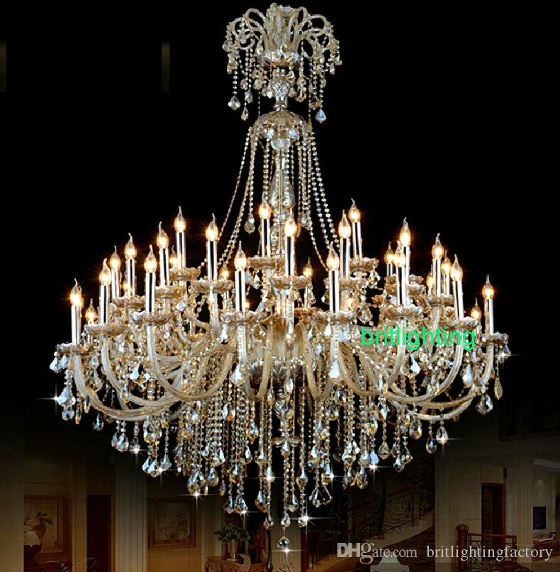 Vintage Extra Large Crystal Chandelier Entryway Antique Huge French Cheap Lar