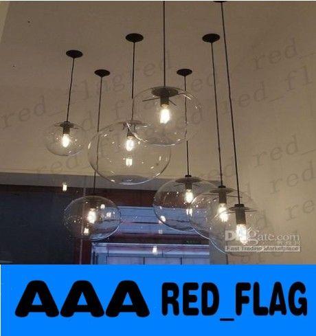 Modern Minimalist Edison Bulbs Clear
