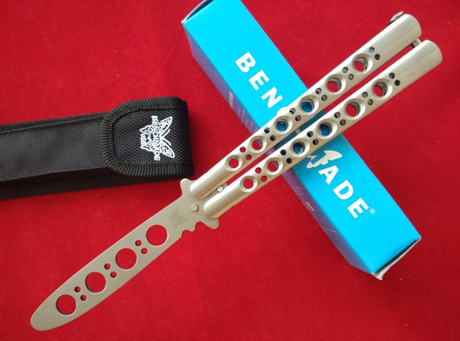how to make a butterfly knife trainer