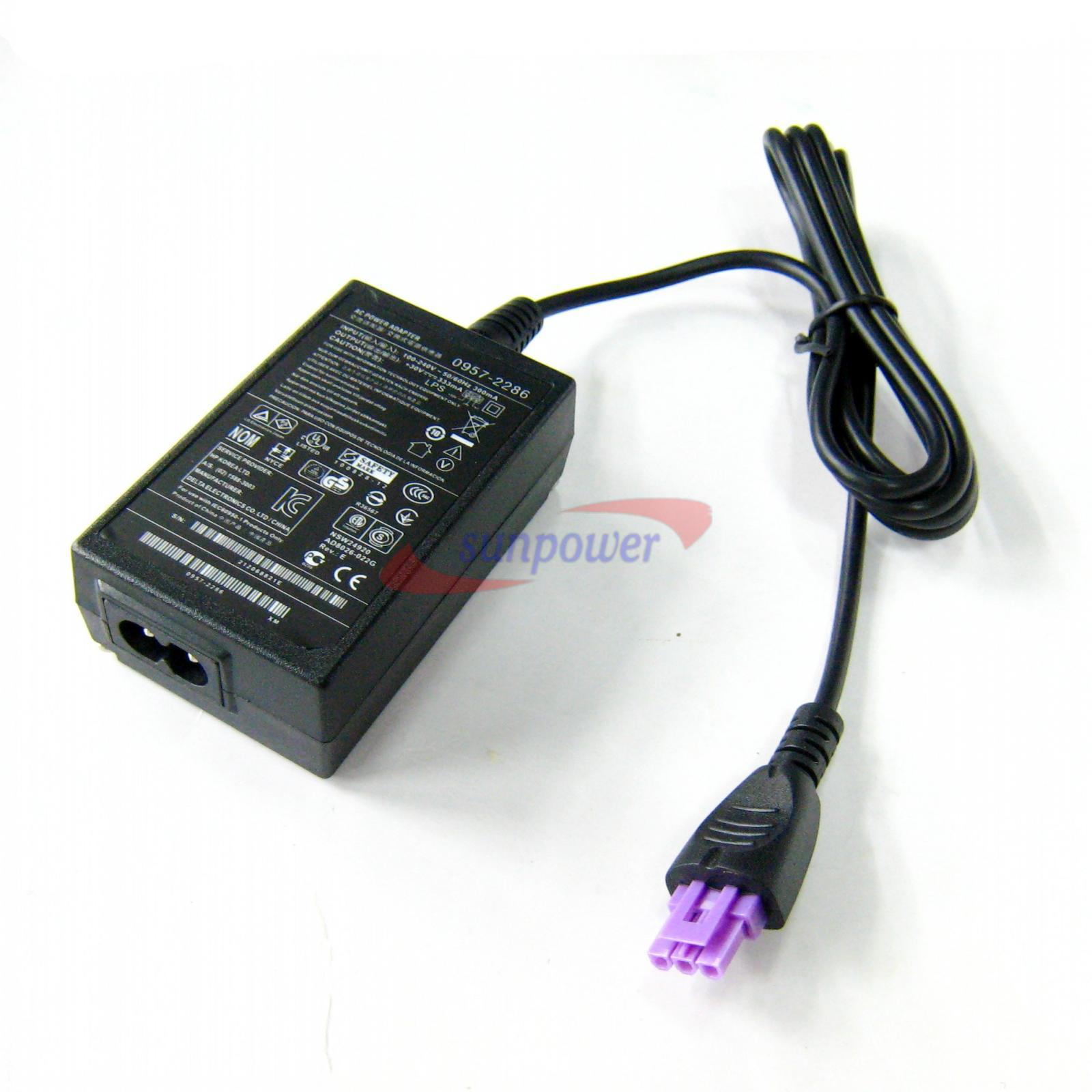 Ac Power Supply Adapter 30v 333ma For Hp 0957 2286 Deskjet