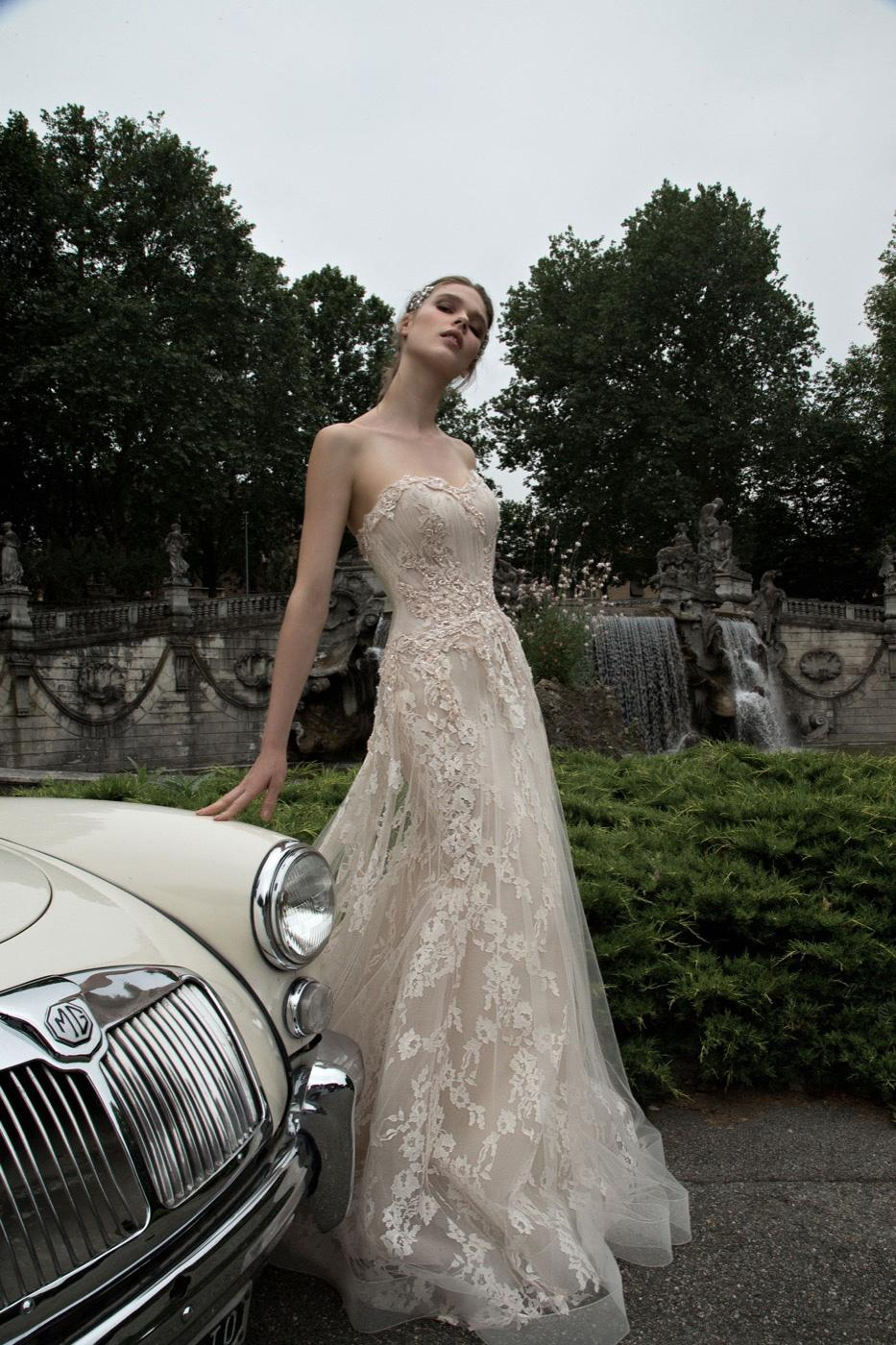 product oleg cassini strapless mermaid wedding dress