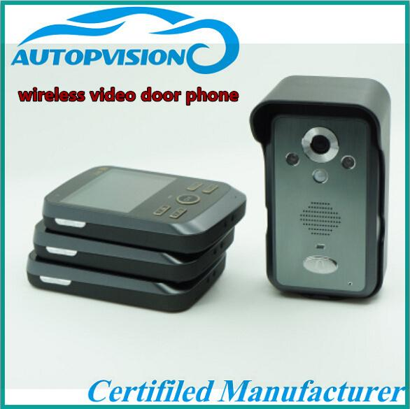Kdb300 Battery Operated Wireless Colour Video Door Phone
