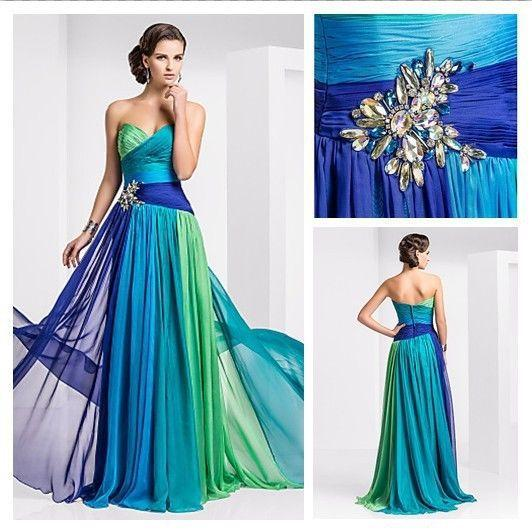 High Quality Prom Dress Low Price Party Gowns Lace Up Multicolor ...