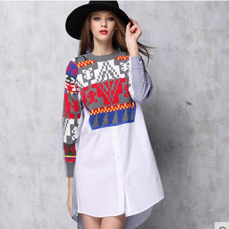 Women Winter Clothes 2015 Autumn New Woman Casual Dresses National ...
