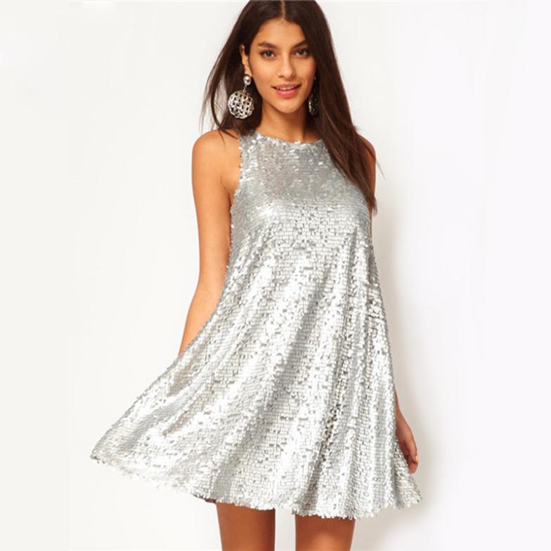 Sequin Dress Ladies Sexy Club Wear 2015 Hot Sale Shining Spring ...