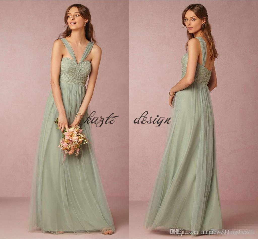 Bhldn sage blush country bohemian bridesmaid dresses 2018 modest bhldn sage blush country bohemian bridesmaid dresses 2018 modest convertible style wedding party guest holiday junior dress cheap plus size 2017bridesmaid ombrellifo Gallery