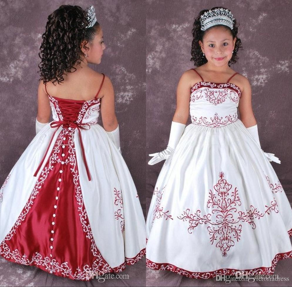 Wedding Dresses For Childrens In : Vintage ball gowns children wedding dress for girls