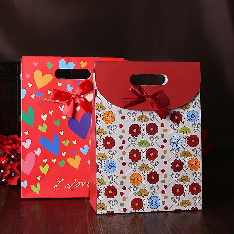 Wedding No Gift Box : ... Gift idea No. gift bag Favor bags wedding supplies wedding candy box