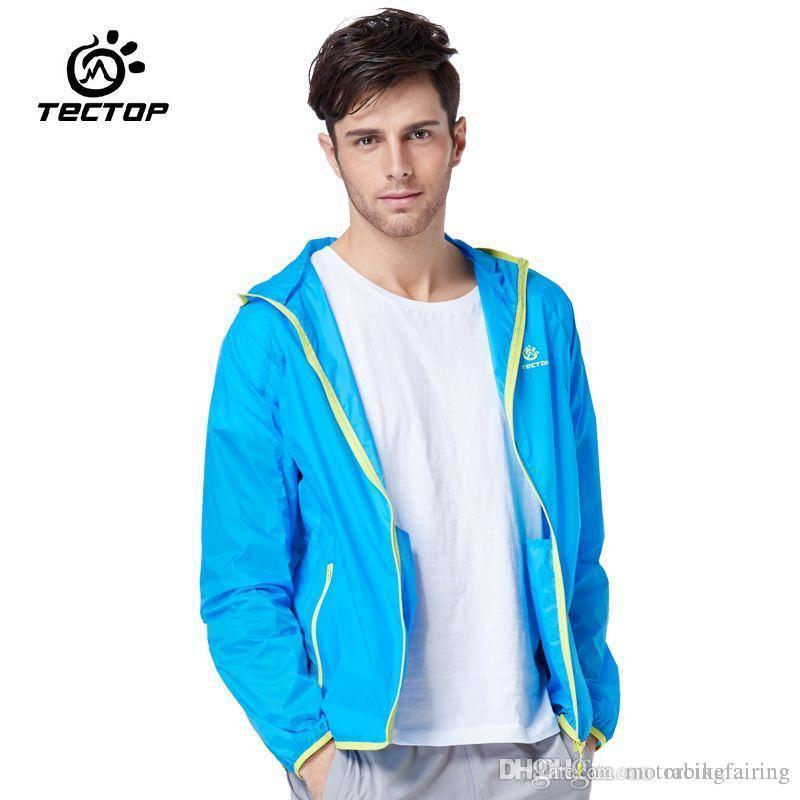 Online Cheap Summer Men Running Jacket Thin Anti Uv Sports Jacket ...