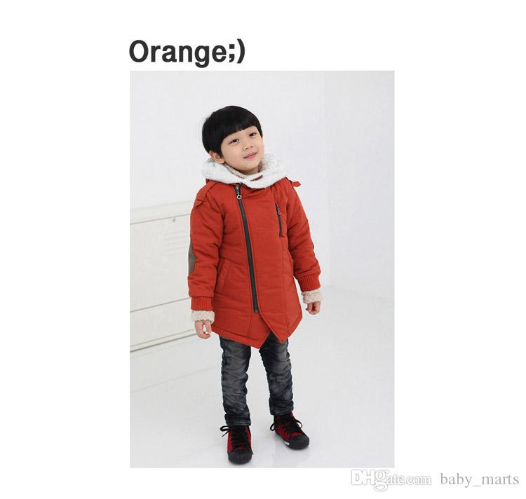 Winter Small Baby Clothes Thicken Add Wool Hoo s Coat