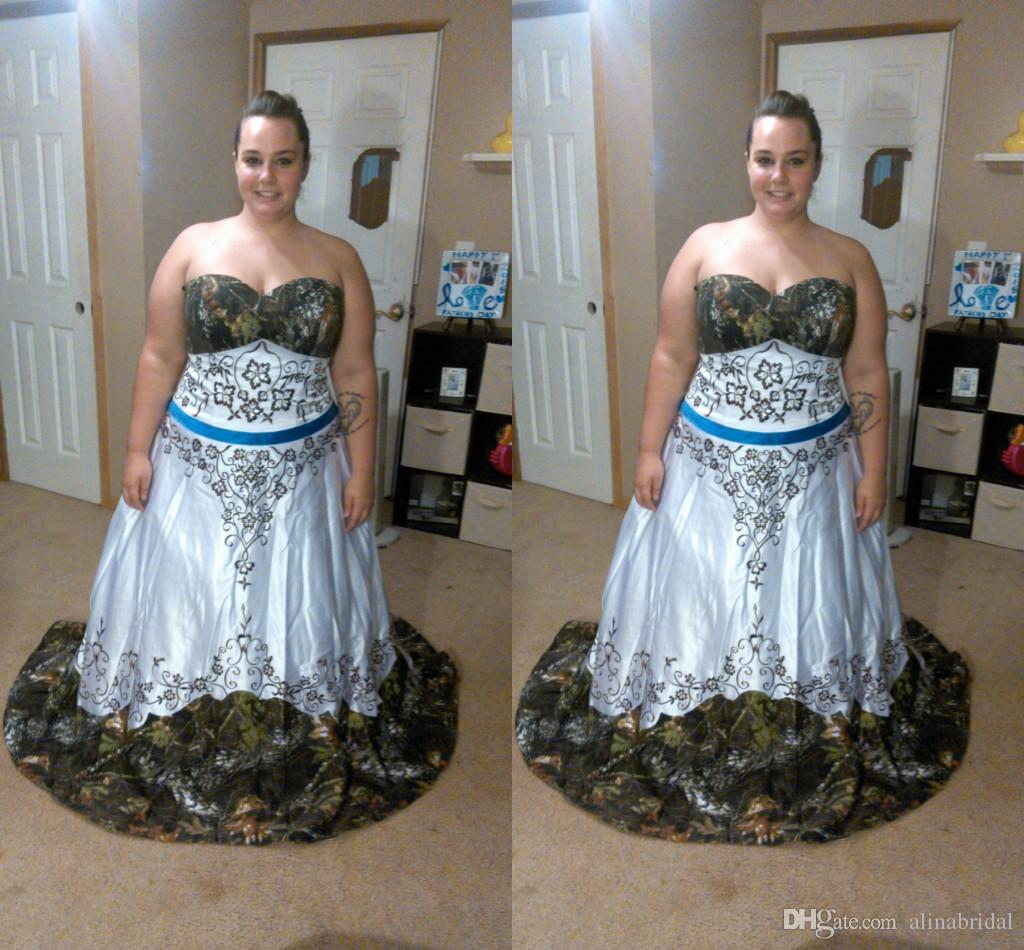 Famous Plus Size Camo Prom Dresses Embellishment - Wedding Dress ...