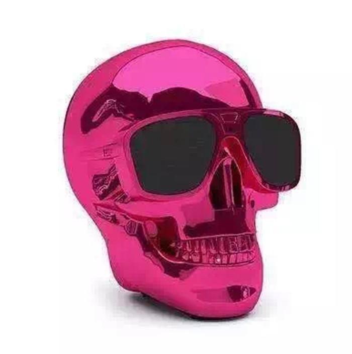 top quality skull head speaker cool design skull bluetooth