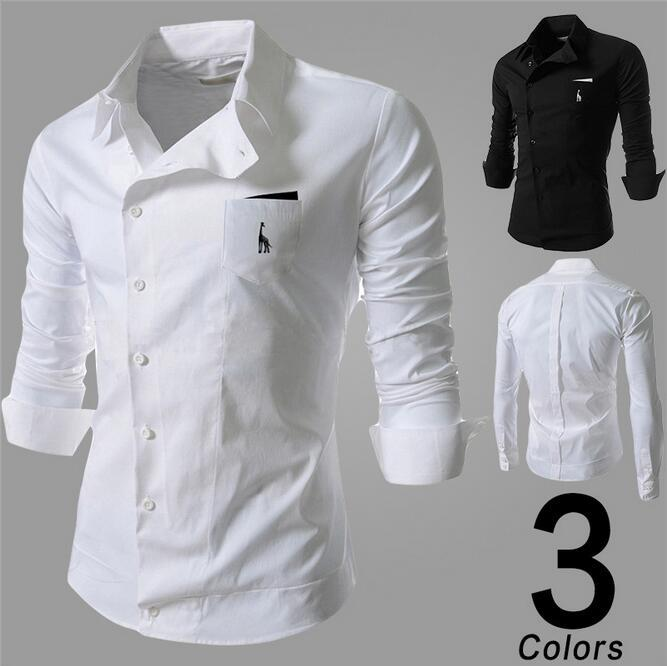 HOT 2016 Spring Mens Fashion Casual Men Shirts New Mens Stylish ...