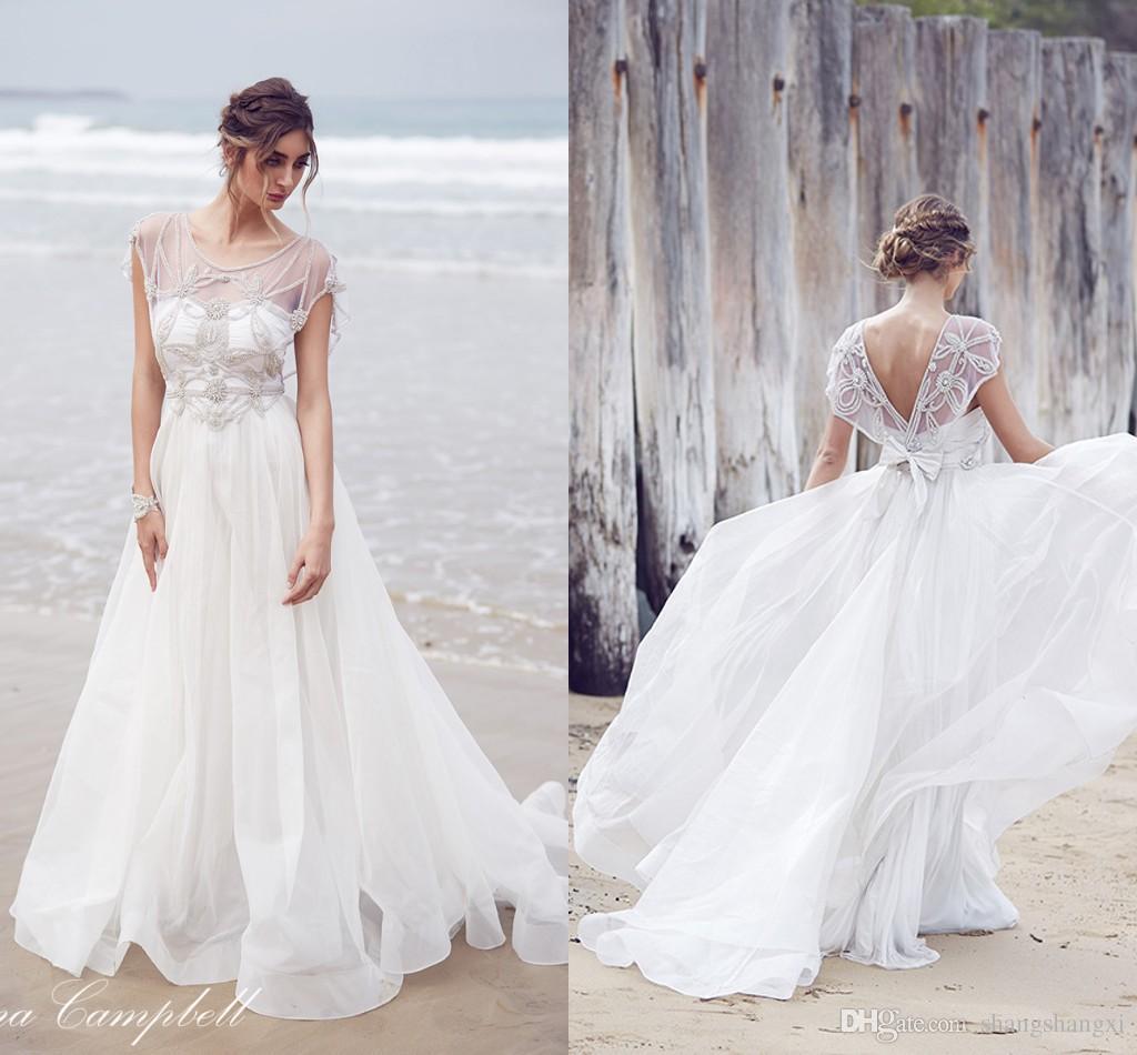 Gallery For Bohemian Beach Wedding Dress