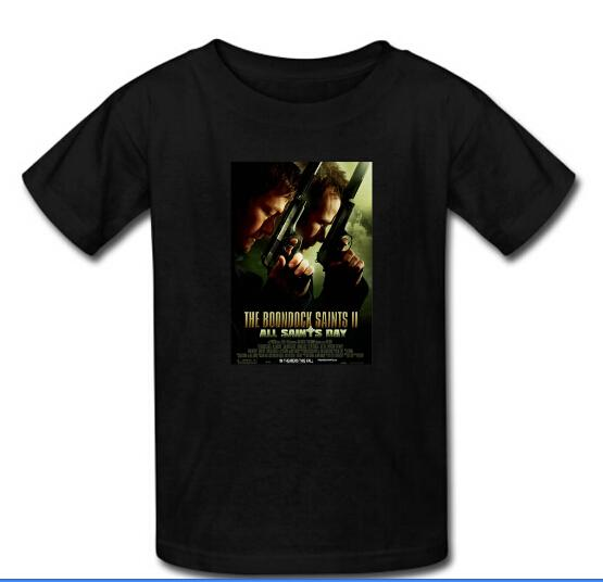 Hot sale men tee tops t shirts custom boondock saints for Custom t shirts for sale